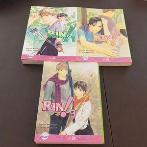 Yaoi / BL Manga Lot - RIN!  - Satoru Kannagai - Yukine Honami